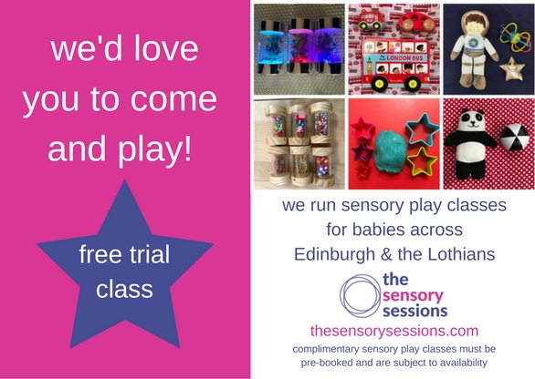 complimentary trial of baby class Edinburgh