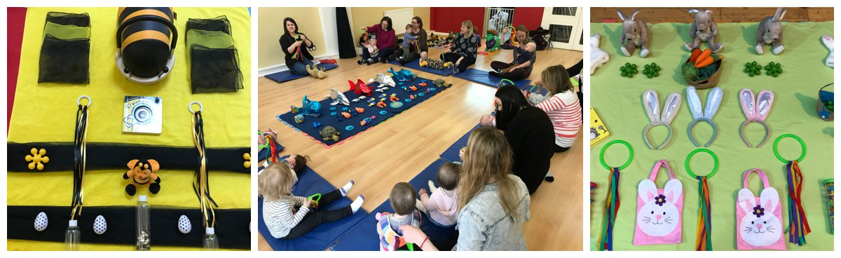 Baby Class Corstorphine Edinburgh Sensory Play