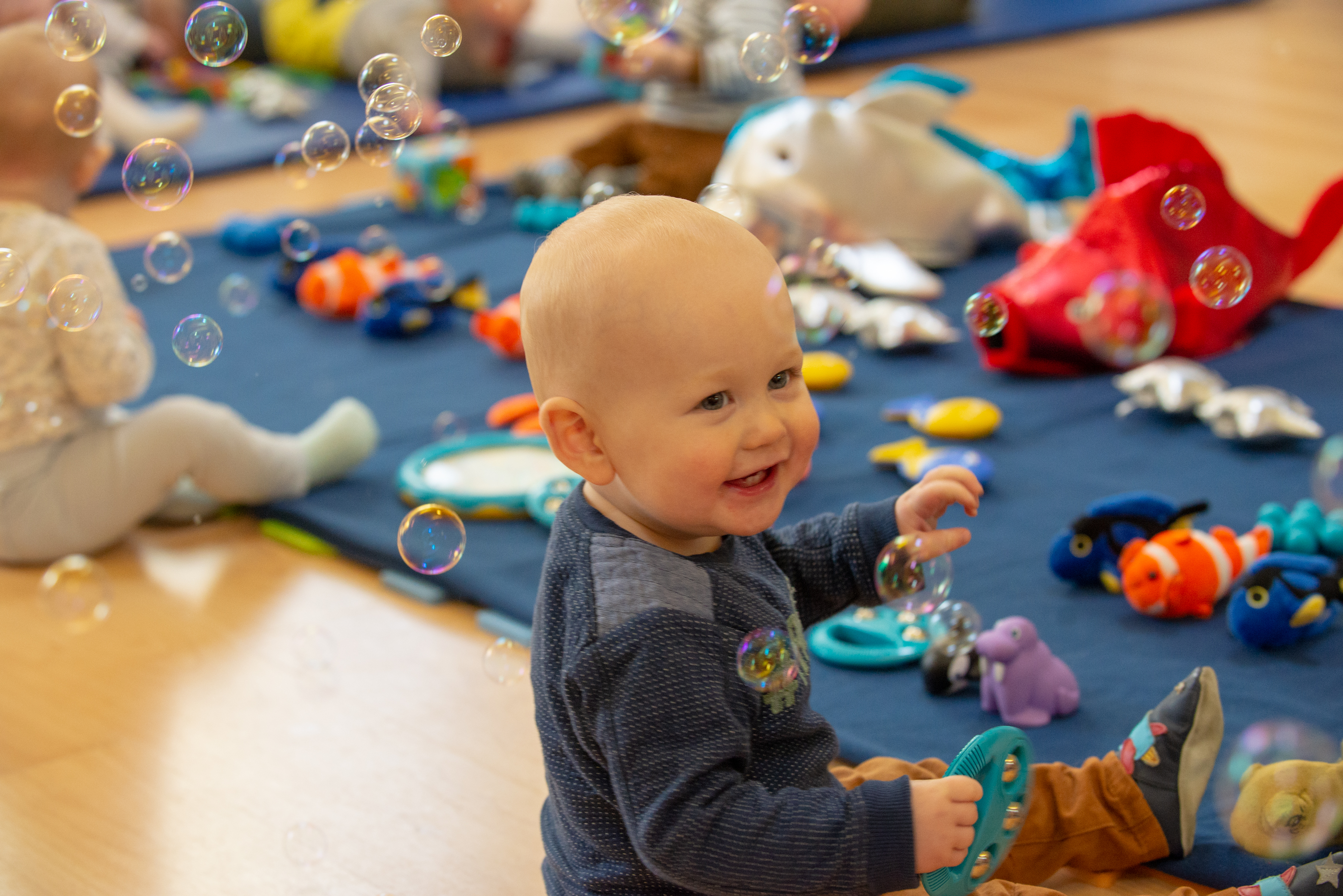 sensory development baby classes edinburgh