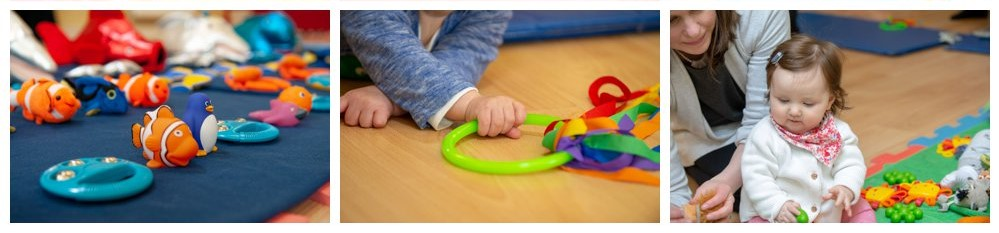 Timetable for the sensory session classes