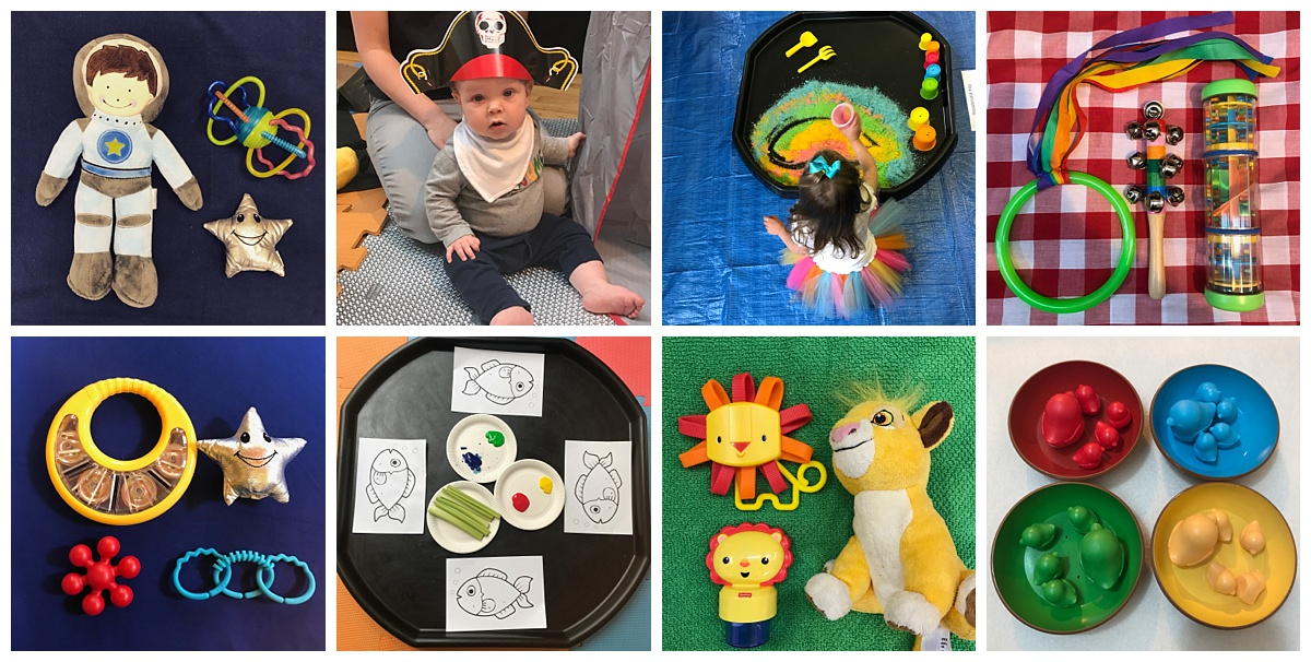 sensory development classes Edinburgh