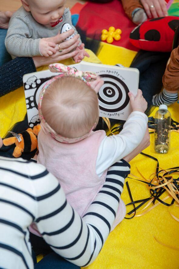 baby group liberton sensory play edinburgh