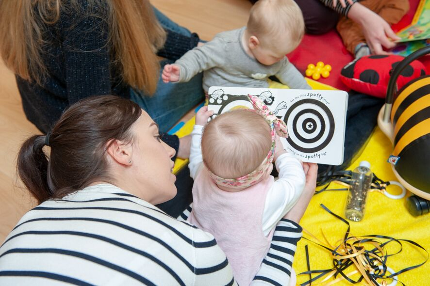 babies and books, the importance of reading to babies and toddlers