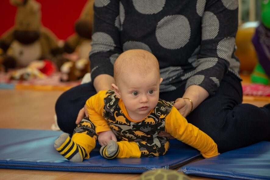 Sensory Sessions baby class in Corstorphine