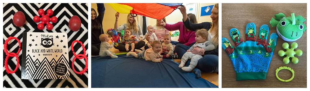 The Sensory Sessions baby class in Kirkcaldy