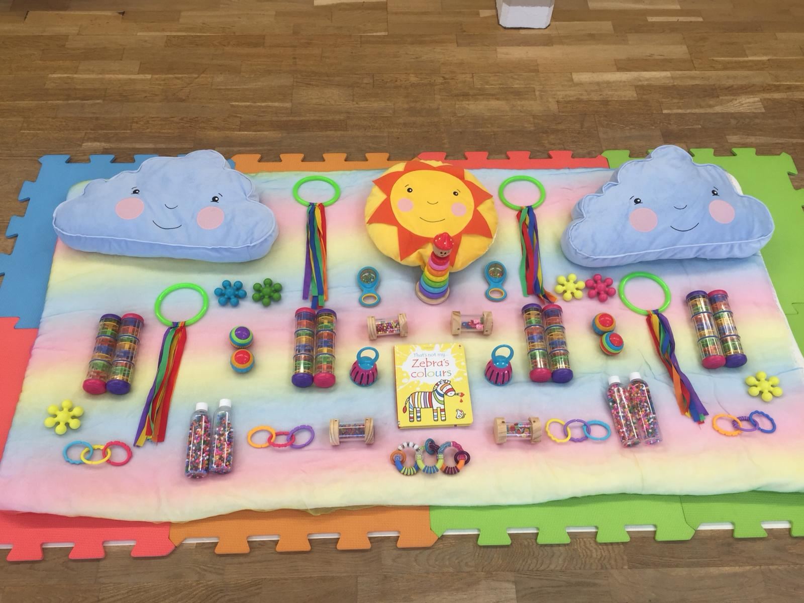 The Sensory Sessions baby group Morningside