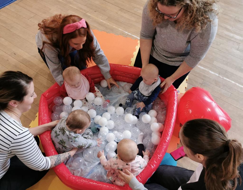 sensory baby class Cambuslang Lanarkshire glasgow