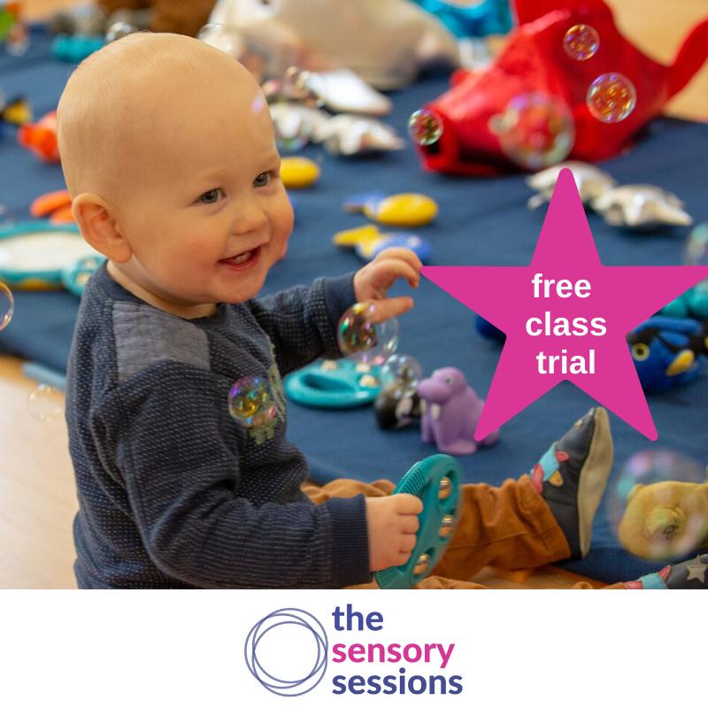 free baby development class