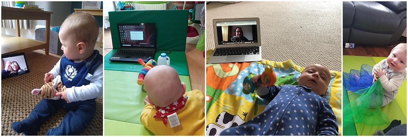 sensory development class online for babies