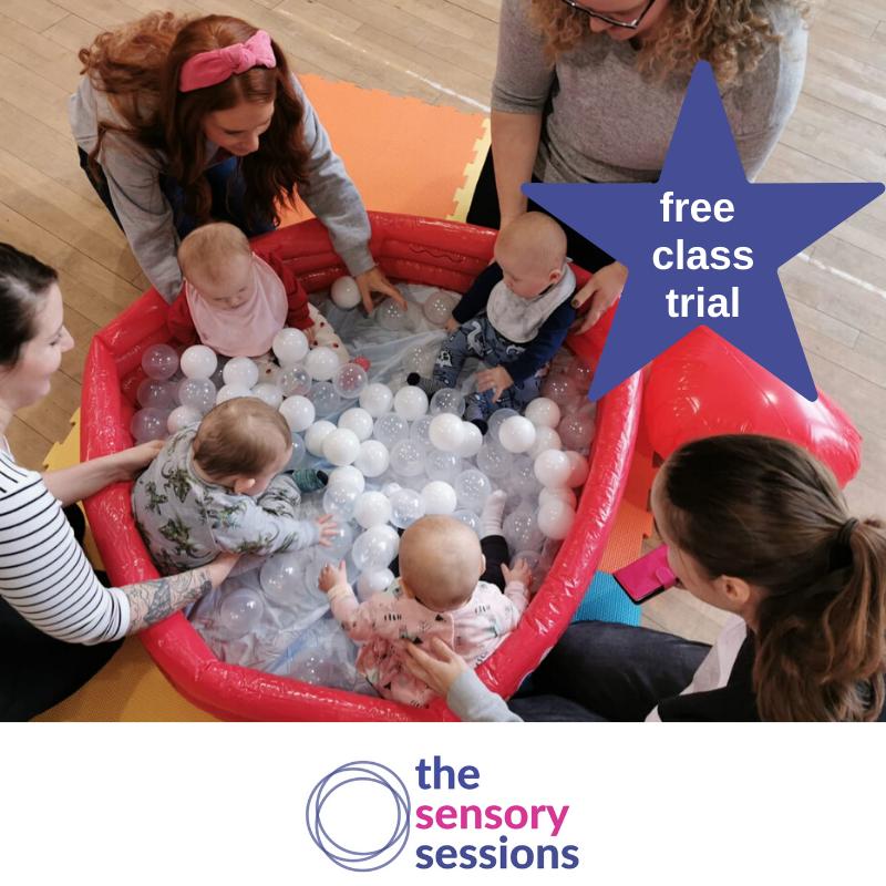 sensory baby class Giffnock glasgow