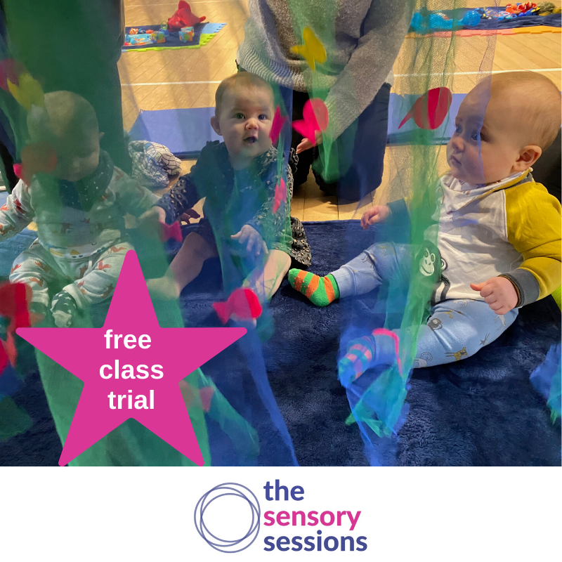 complimentary class trial sensory baby classes edinburgh