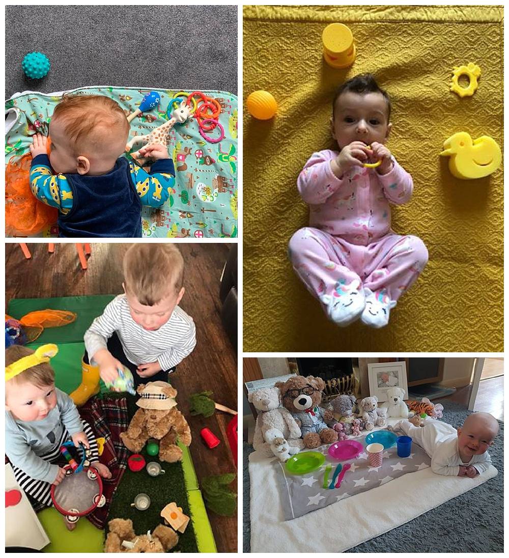 online sensory baby class at home