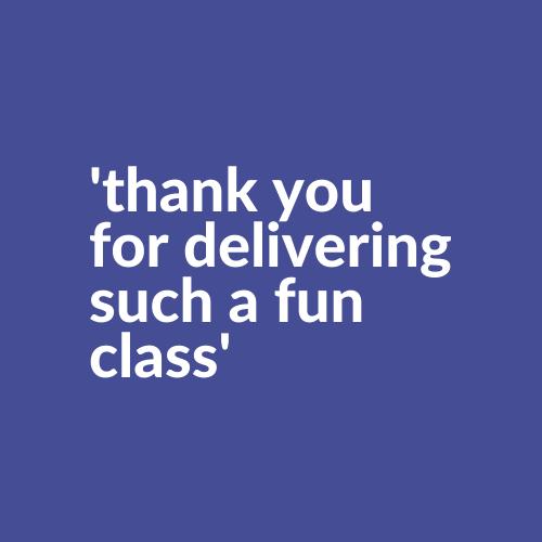 sensory class online